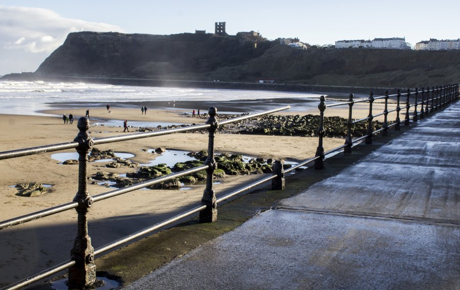 Scarborough, North Bay, North Yorkshire by L.Hardwick Photography